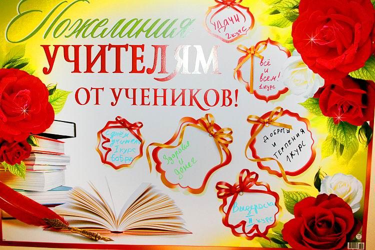 Поздравление учителя с днем рождения по английский